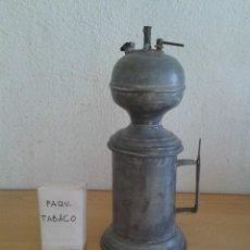 Antiquités: ANTIGUO CARBURO LAMPARA DE MINA CANDIL. Lote 222601353