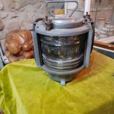 Antigüedades: ANTIGUO FARÓL DE BARCO LUZ DE BARCO. Lote 222605060