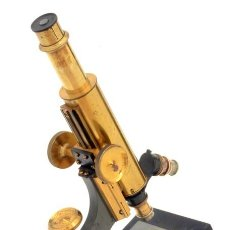 Antigüedades: MICROSCOPIO ANTIGUO WATSON TIPO 'FRAM' (C.1895). Lote 222605370