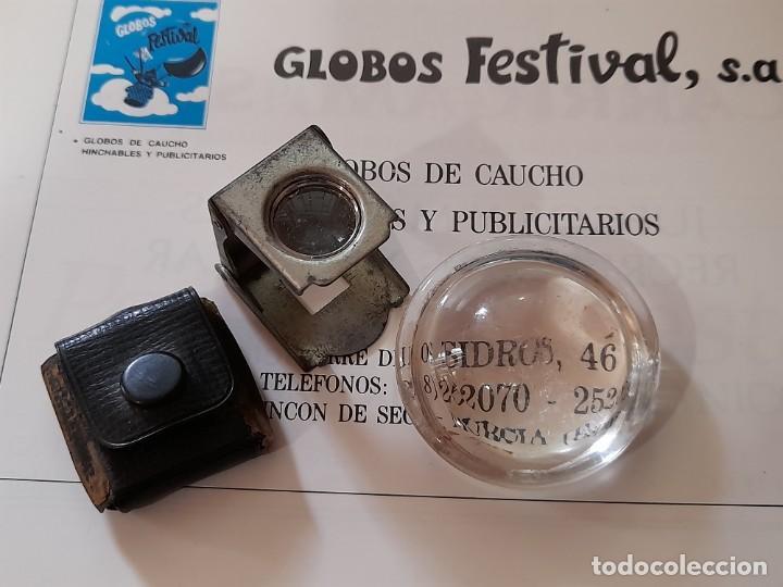 LUPAS ANTIGUAS (Antigüedades - Técnicas - Instrumentos Ópticos - Lupas Antiguas)