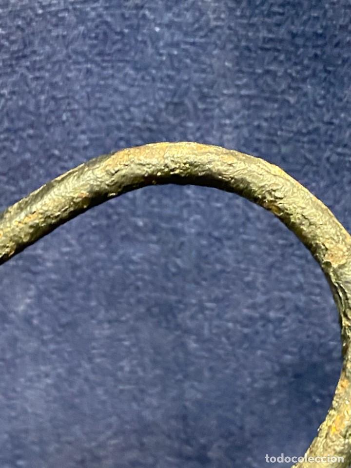 Antigüedades: lampara carburo minero mineria mina francia fin s xix ppio xx bronce hierro ver fotos 21x10cms - Foto 12 - 222622797