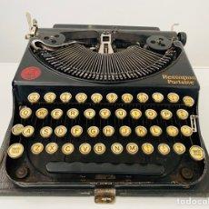 Antigüedades: REMINGTON PORTABLE TYPEWRITER ESPAÑOLA. Lote 222665226