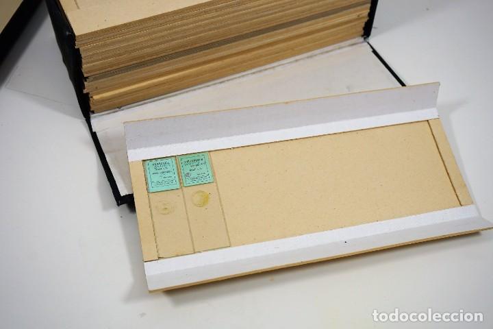 Antigüedades: MICROSCOPIO. ANTIGUA CAJA PARA PREPARACIONES MICROSCOPICAS c.1900 - Foto 3 - 222681400