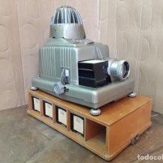 Antigüedades: BRAUN NURNBERG, PAXIMAT ELECTRIC CON LENTE WILL WETZLER MAGINON. ALEMANIA, AÑOS 50. Lote 222696652