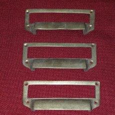 Antigüedades: LOTE DE 4 AGARRADERAS Ó TIRADORES. Lote 222742128