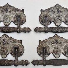 Antigüedades: TIRADORES PUERTAS. Lote 222791168