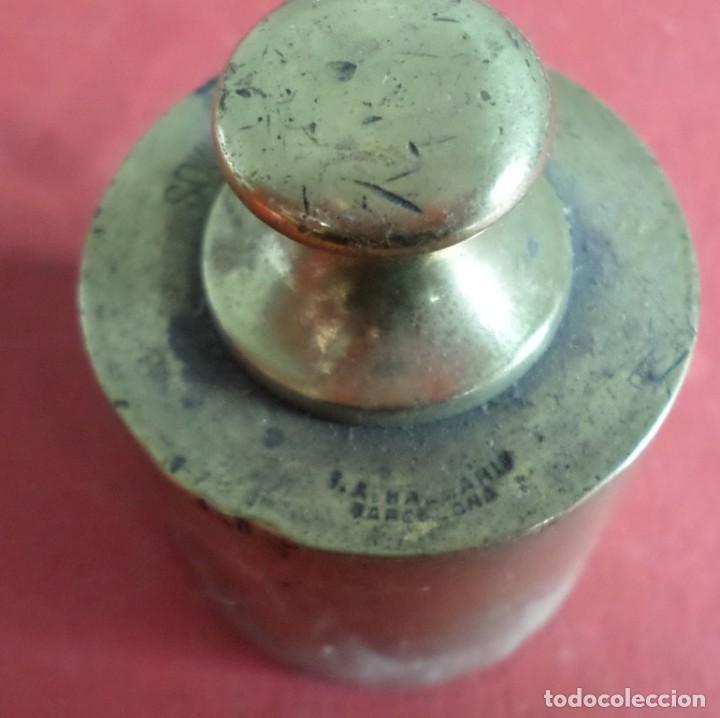 Antigüedades: Pesa bronce 500 gr .-- 500 gramos C. A. Ballarin Barcelona (o similar) - Foto 5 - 222803092
