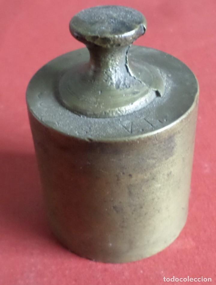 PESA BRONCE 500 GR. --- 500 GRS V.L. (Antigüedades - Técnicas - Medidas de Peso Antiguas - Otras)