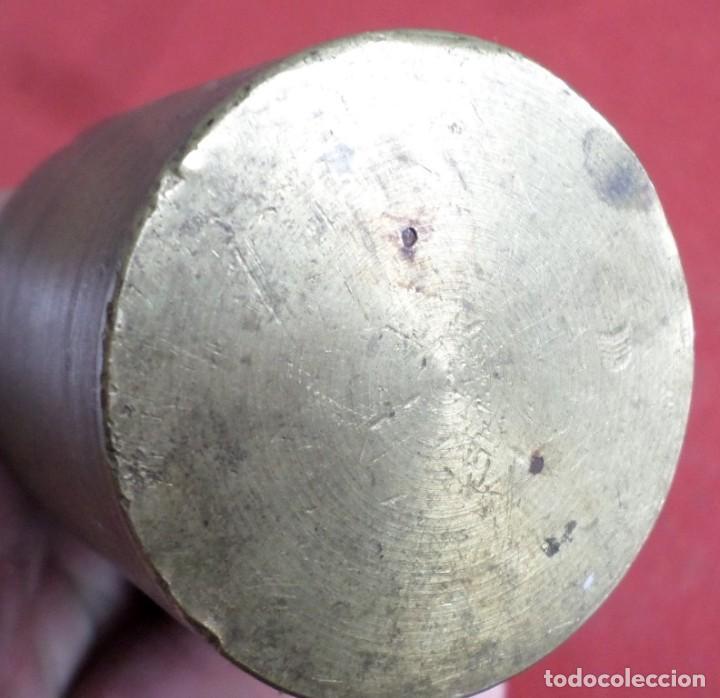 Antigüedades: Pesa bronce 500 gr. --- 500 Grs V.L. - Foto 2 - 222803307