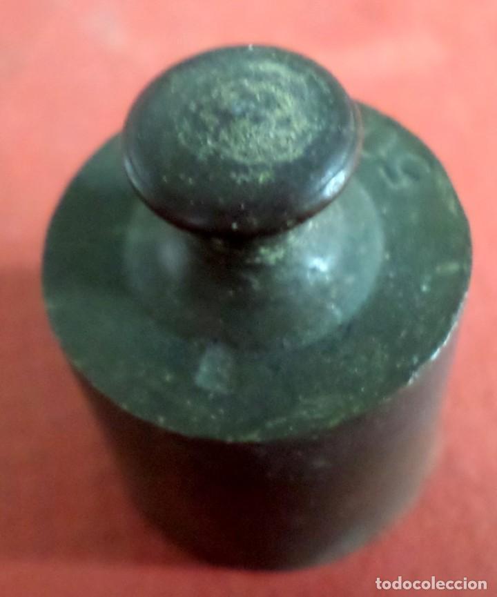 Antigüedades: Pesa bronce 50 gr. --- 50 Grs - Foto 5 - 222803455