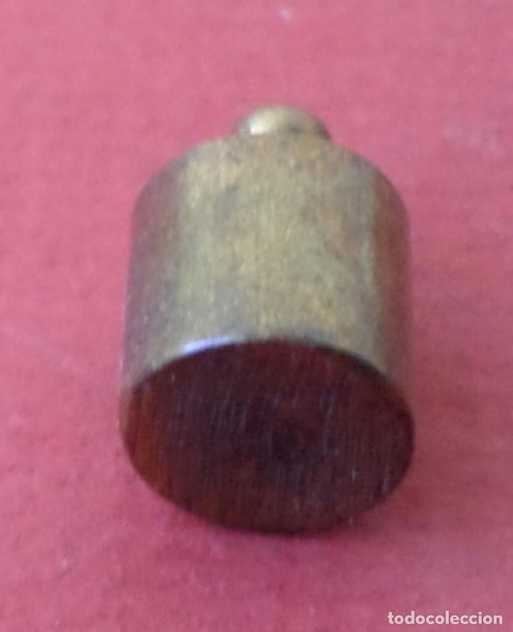 Antigüedades: Pesa bronce 10 gr. - Foto 3 - 222805755