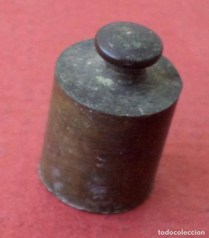 PESA BRONCE 10 GR. (Antigüedades - Técnicas - Medidas de Peso Antiguas - Otras)
