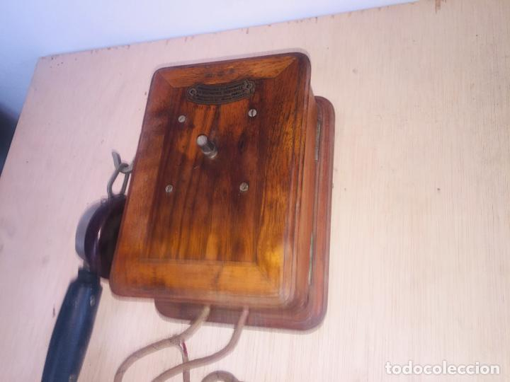 "Teléfonos: Telefono madera mural "" la telephonie integrale "" - Foto 2 - 222838803"