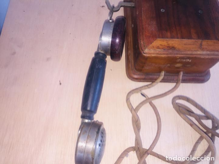 "Teléfonos: Telefono madera mural "" la telephonie integrale "" - Foto 3 - 222838803"