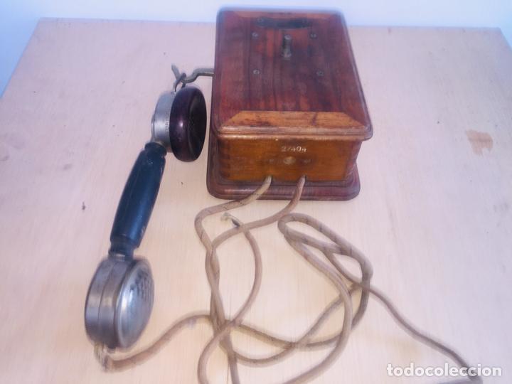 "Teléfonos: Telefono madera mural "" la telephonie integrale "" - Foto 4 - 222838803"
