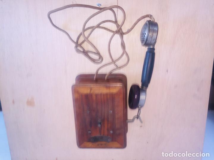 "Teléfonos: Telefono madera mural "" la telephonie integrale "" - Foto 6 - 222838803"