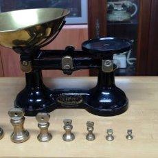 Antigüedades: BALANZA MECANICA THE VIKING. Lote 222838840