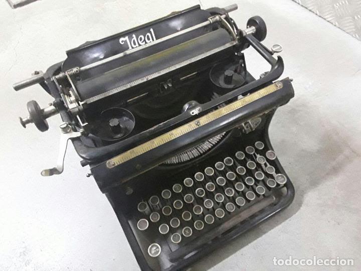 ANTIGUA Y MUY BONITA MÁQUINA DE ESCRIBIR - MARCA IDEAL - PRINCIPIOS 1900´S - (Antigüedades - Técnicas - Máquinas de Escribir Antiguas - Otras)