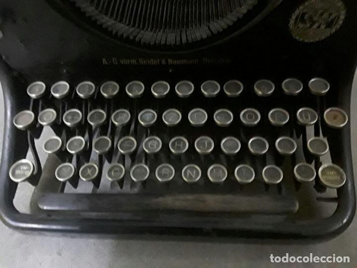 Antigüedades: Antigua y muy bonita máquina de escribir - Marca Ideal - Principios 1900´s - - Foto 5 - 222847802