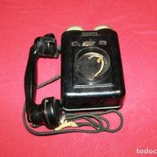 Teléfonos: ANTIGUO TELEFONO DE PARED STANDARD ELECTRICA - ESPAÑOL - TELEFONICA. Lote 222868002
