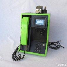 Teléfonos: TELÉFONO DE MONEDAS PARA CABINA O BAR. FUNCIONANDO. PRUEBAS REPARTIDOR.. Lote 222978128