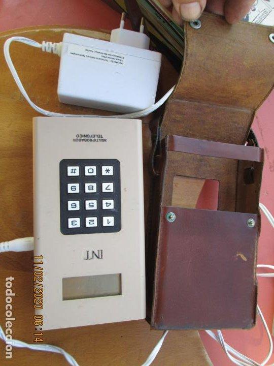 EQUIPO MULTIPRUEBA CELADOR - TELEFÓNICA ESPAÑA - INTERISA-MADRID CCT 3701D01 - FUNCIONA. (Antigüedades - Técnicas - Teléfonos Antiguos)