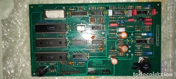 TAKIO TP909 PLACA DIGITAL MEDIDOR TENSIÓN + MANUAL USUARIO (Antigüedades - Técnicas - Ordenadores hasta 16 bits (anteriores a 1982))