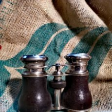 Antigüedades: PRISMÁTICOS ANTIGUOS ÓPERA CHEVALIER OPTICIEN PARÍS. Lote 223294052