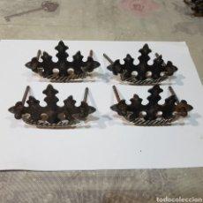 Antigüedades: LOTE DE 4 TIRADORES ANTIGUOS. Lote 256129750