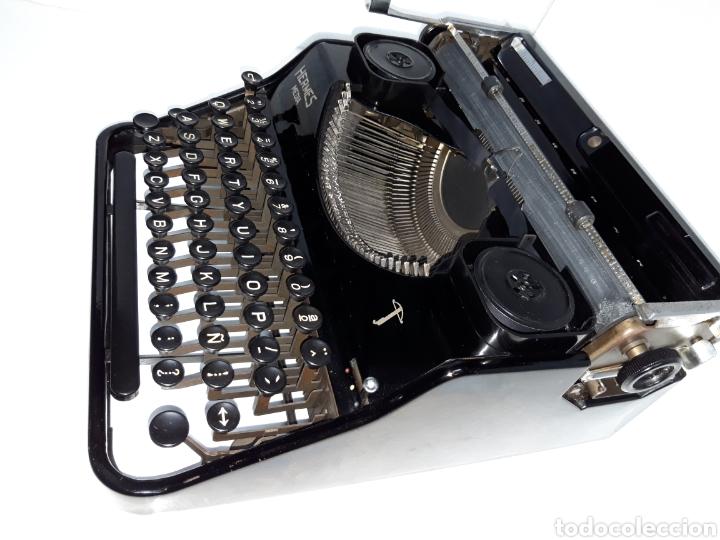 Antigüedades: ESCRIBIR TYPEWRITER SCHREIBMASCHINE HERMES MEDIA - Foto 3 - 223379438