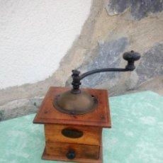 Antigüedades: MOLINILLO DE CAFÉ PEUGEOT FRÈRES.PLACA PARÍS- FRANCIA CA. 1881/1910. Lote 223413146
