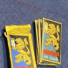 Antigüedades: HOJAS AFEITAR IBERIA DE LUXE CAJA PPIO S XX VER FOTOS 5X2,5CMS. Lote 223427776