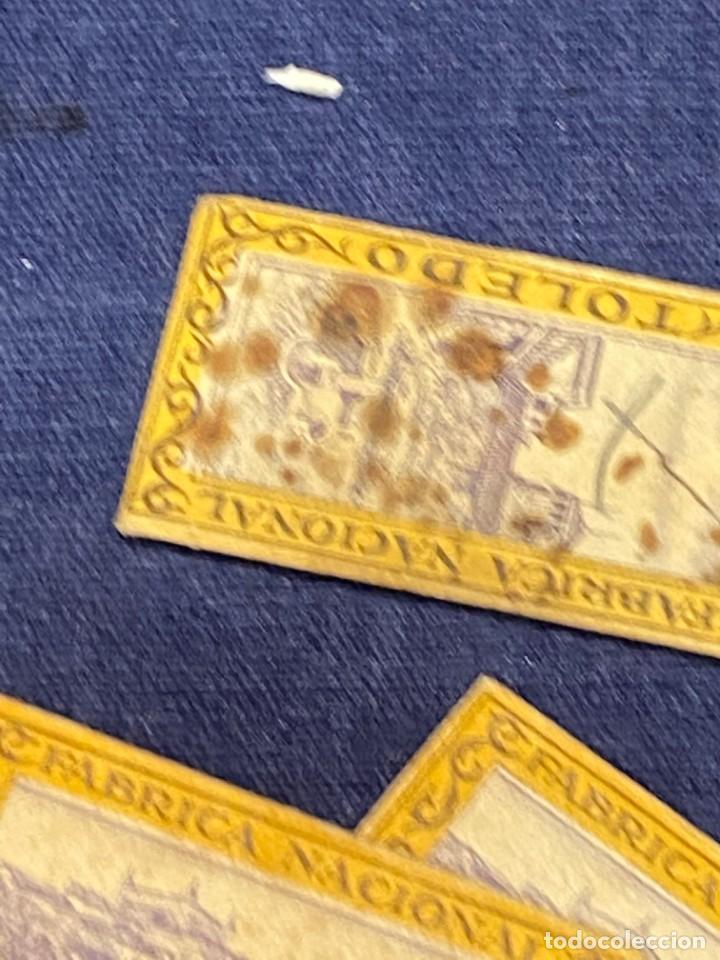 Antigüedades: 10 hojas afeitar fabrica nacional toledo sin caja ppio s xx ver fotos 5x2,5cms - Foto 3 - 223439632