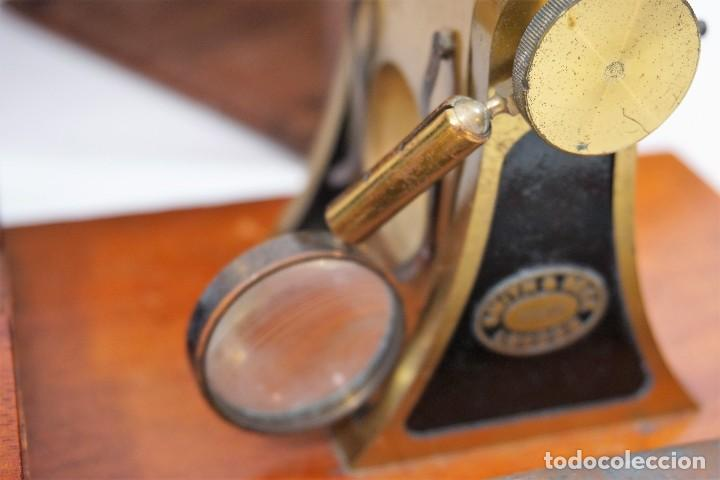 "Antigüedades: ANTIGUO MICROSCOPIO INGLÉS ""SMITH AND BECK"" modelo MILKBOX c. 1847 - Foto 8 - 223499410"