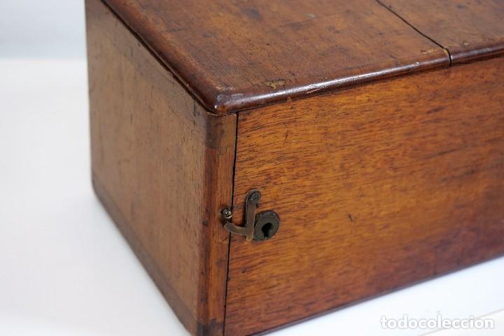 "Antigüedades: ANTIGUO MICROSCOPIO INGLÉS ""SMITH AND BECK"" modelo MILKBOX c. 1847 - Foto 16 - 223499410"