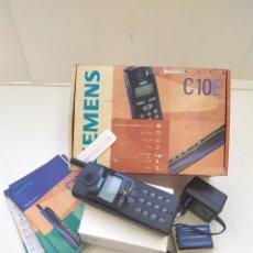 Teléfonos: CELULAR,TELEFONO MOVIL SIEMENS C10E AÑO 1998,NUEVO OPERADORA AIRTEL.EN CAJA. Lote 223525453