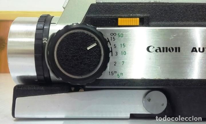 Antigüedades: CÁMARA CANON AUTO ZOOM 318MM,CON SU CAJA Y FUNDA ORIGINALES, INSTRUCCIONES Y GARANTÍA - Foto 8 - 223600507
