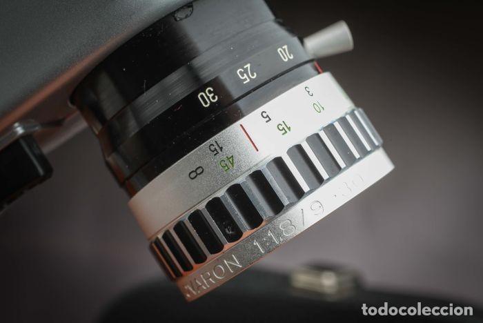 Antigüedades: CÁMARA BAUER C3 SUPER 8 mm CON FUNDA ORIGINAL, EN MUY BUEN ESTADO - Foto 3 - 223600510