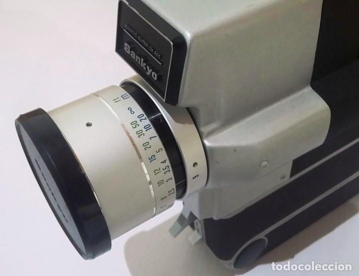 Antigüedades: CÁMARA TOMAVISTAS SANKYO SUPER CM 300. COMO NUEVA CON SU MALETÍN - Foto 7 - 223700878