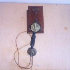 Teléfonos: TELEFONO MADERA MURAL COMUNICADOR. Lote 223763936