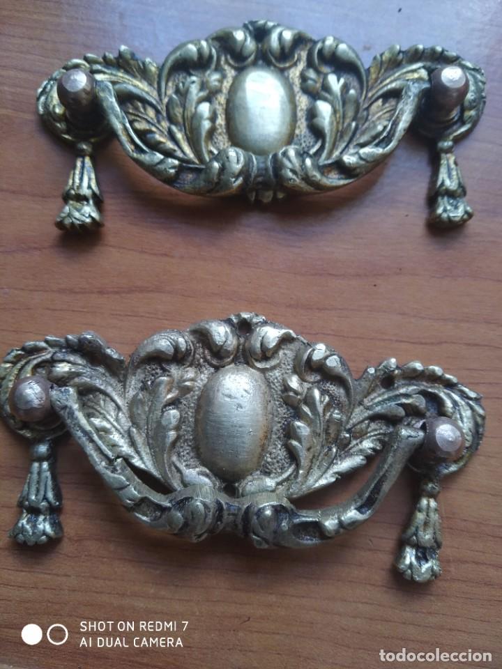 Antigüedades: Tiradores bronce - Foto 4 - 223804541