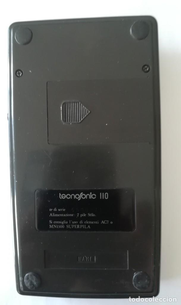 Antigüedades: calculadora cientifica tecnosonic 110 - Foto 3 - 224026766