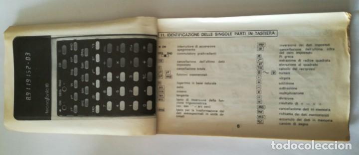Antigüedades: calculadora cientifica tecnosonic 110 - Foto 8 - 224026766