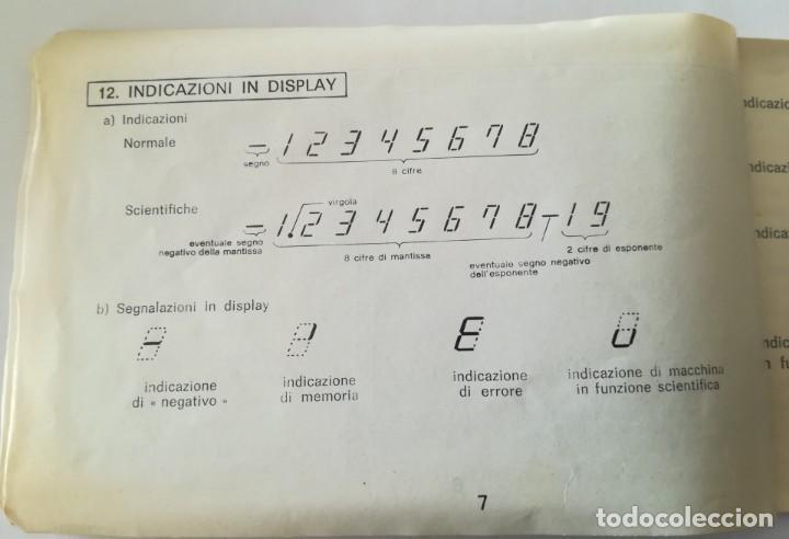 Antigüedades: calculadora cientifica tecnosonic 110 - Foto 9 - 224026766