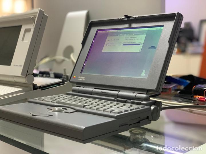 Antigüedades: Powerbook 145b modelo M5409 Vintage Apple Macintosh pantalla nueva - Foto 11 - 221925108
