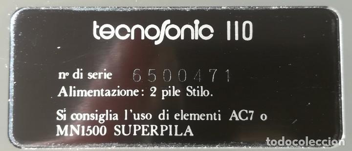 Antigüedades: calculadora cientifica tecnosonic 110 - Foto 5 - 224026766