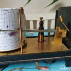 Antigüedades: UN HIGROGRAFO DE WILSON & WARDEN. SIGLO XIX FUNCIONANDO CON HIDROGRAMA 390,00 €. Lote 224088166