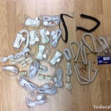 Teléfonos: LOTE DE CABLES PARA REPARACIÓN DE TELÉFONOS ANTIGUOS VARIOS MODELOS. Lote 224113395