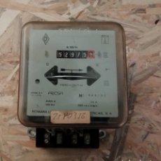 Antigüedades: CONTADOR ELÉCTRICO ROMANILLOS INDUSTRIAS ELECTRICAS 1980. Lote 224131397