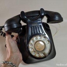 Teléfonos: TELÉFONO DE PARED STANDAR ELECTRICA -ESPAÑA (AÑOS 50) FUNCIONANDO--REF 1AC. Lote 224155017